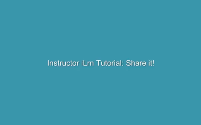 The Share it tool allows students to share and upload files. Learn how to upload to Share It in I-learn.