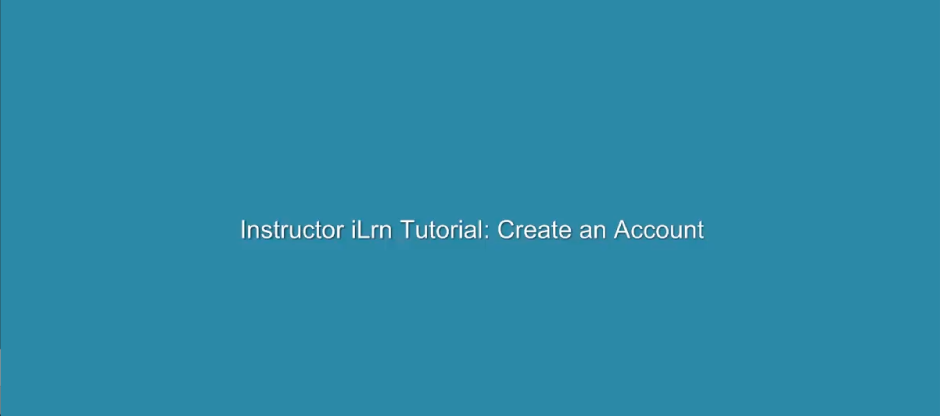 To create an I-learn account, simply go to the site and select the login button, then select Create Account.