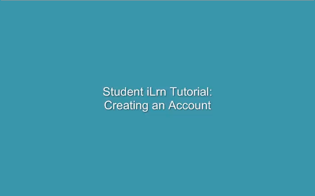 Creating your I-learn account starts with selecting the login button, your book key, and your instructor course code.